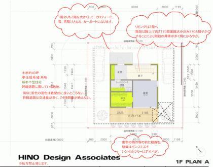 ヒノデザインアソシエイツのプレゼン例1